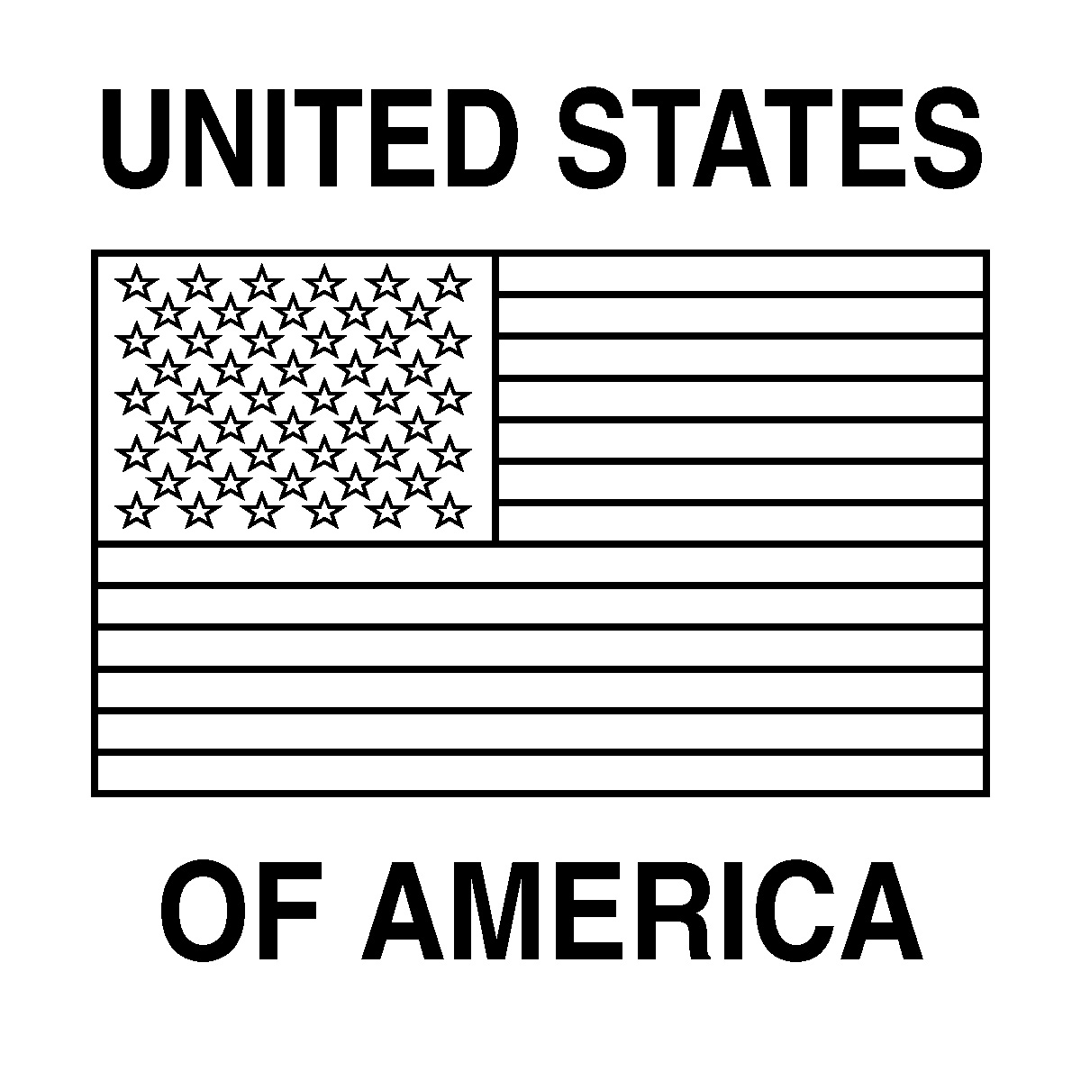 It's just a graphic of Agile states flags coloring pages