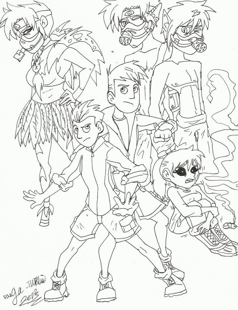 Wild Kratts Coloring Pages Download And Print For Free - Wild-kratts-coloring-pages