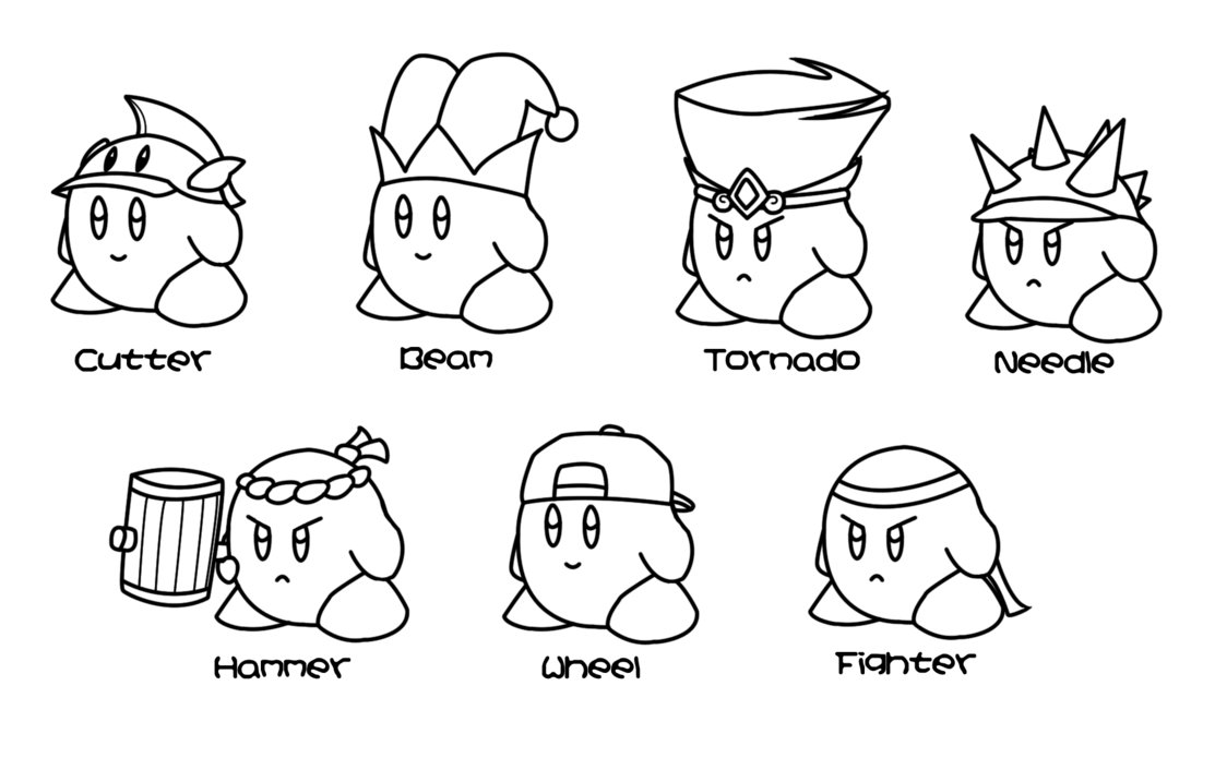 Coloring pages kirby - Kirby Coloring Pages