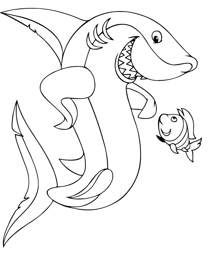 Shark tale free coloring pages ~ Shark tales coloring pages download and print for free