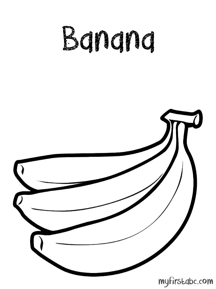 banana coloring pages - photo#22