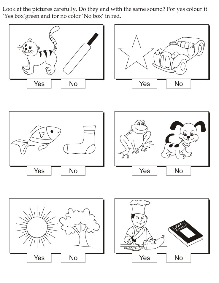 Coloring Pages For Ukg : Opposites coloring pages download and print for free