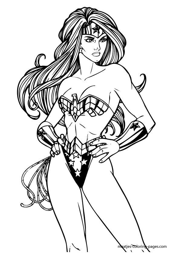 wonder woman coloring pages - Wonder Woman Coloring Book