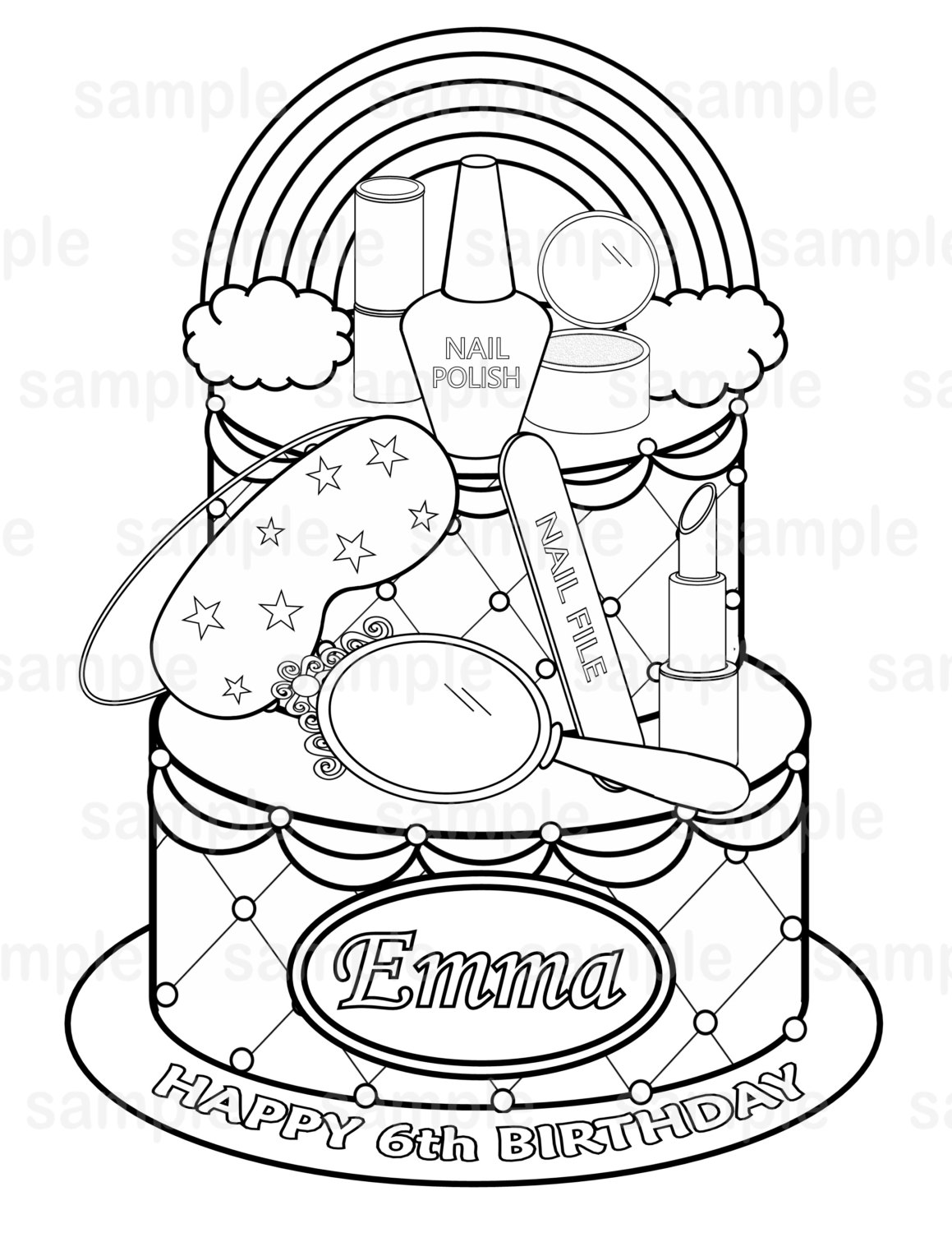 spa themed coloring pages download and print for free