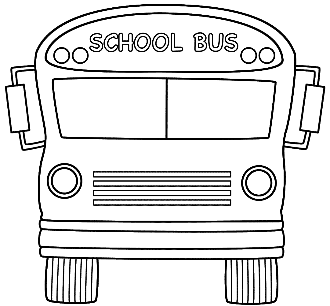 School bus coloring pages to download