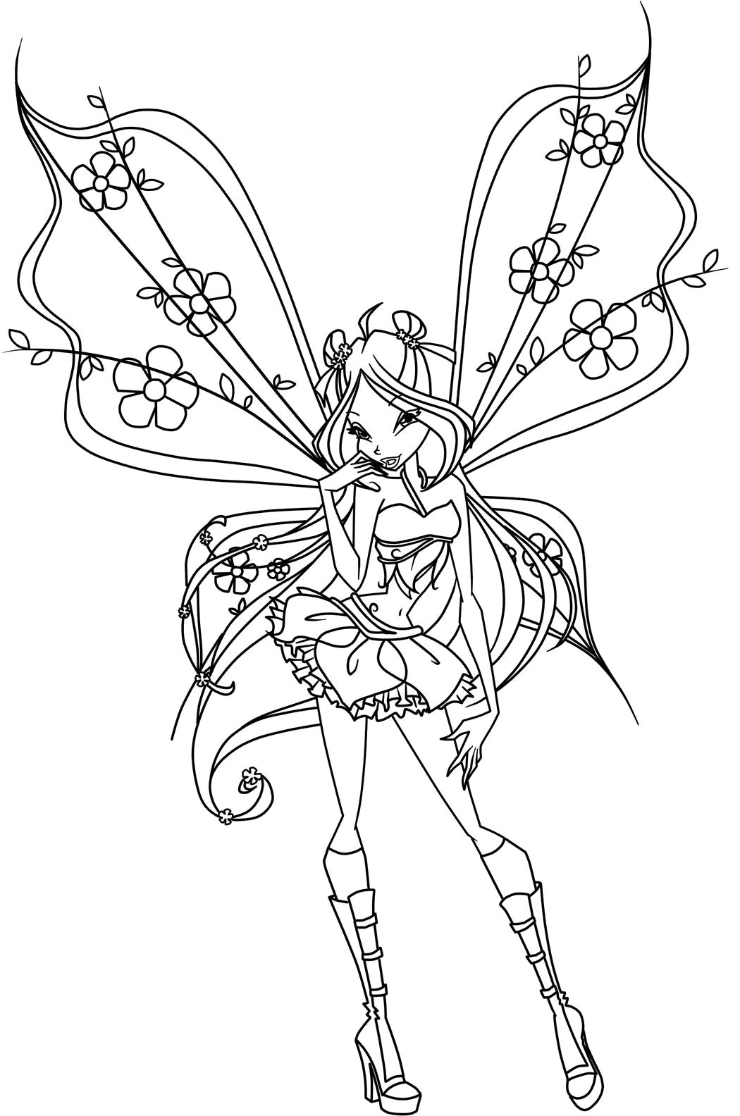 Adult Beauty Winx Coloring Page Images beauty winx coloring pages to download and print for free gallery images
