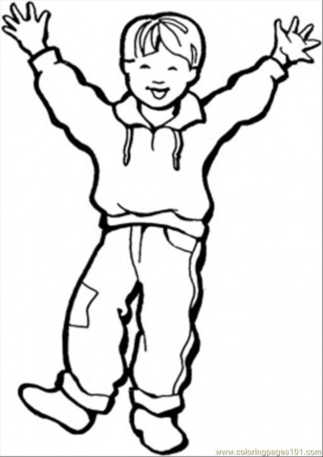 happy girl coloring pages - Boys Coloring Sheets