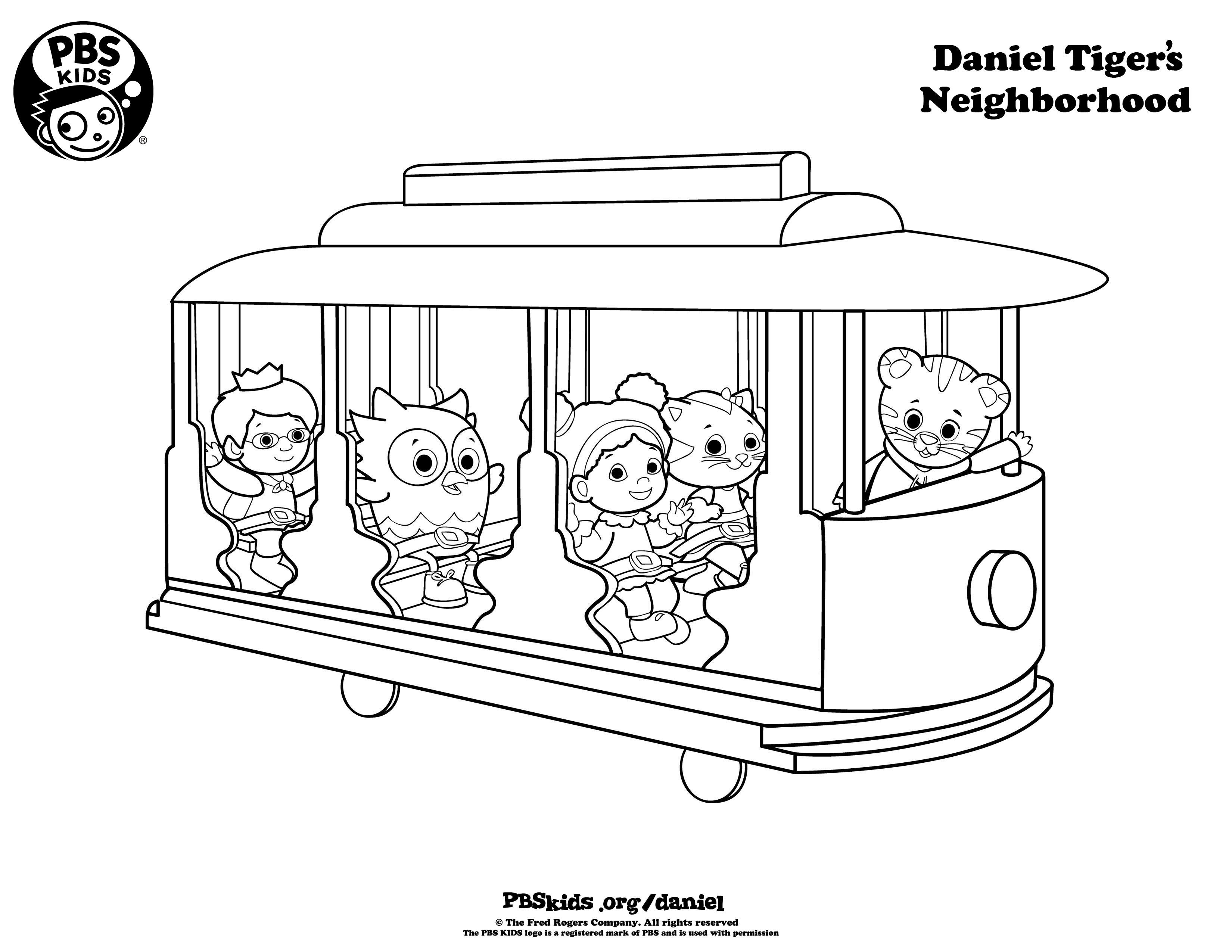 Daniel 6 coloring pages - Sid The Science Kid Coloring Pages