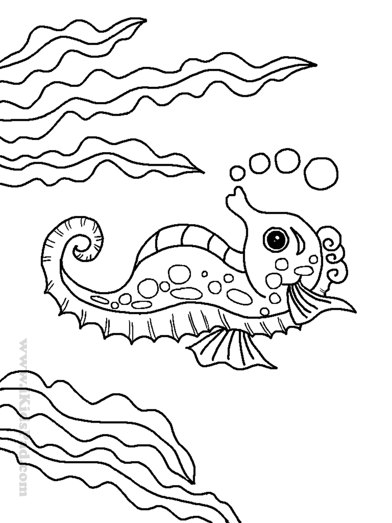 Sea animal coloring pages to download