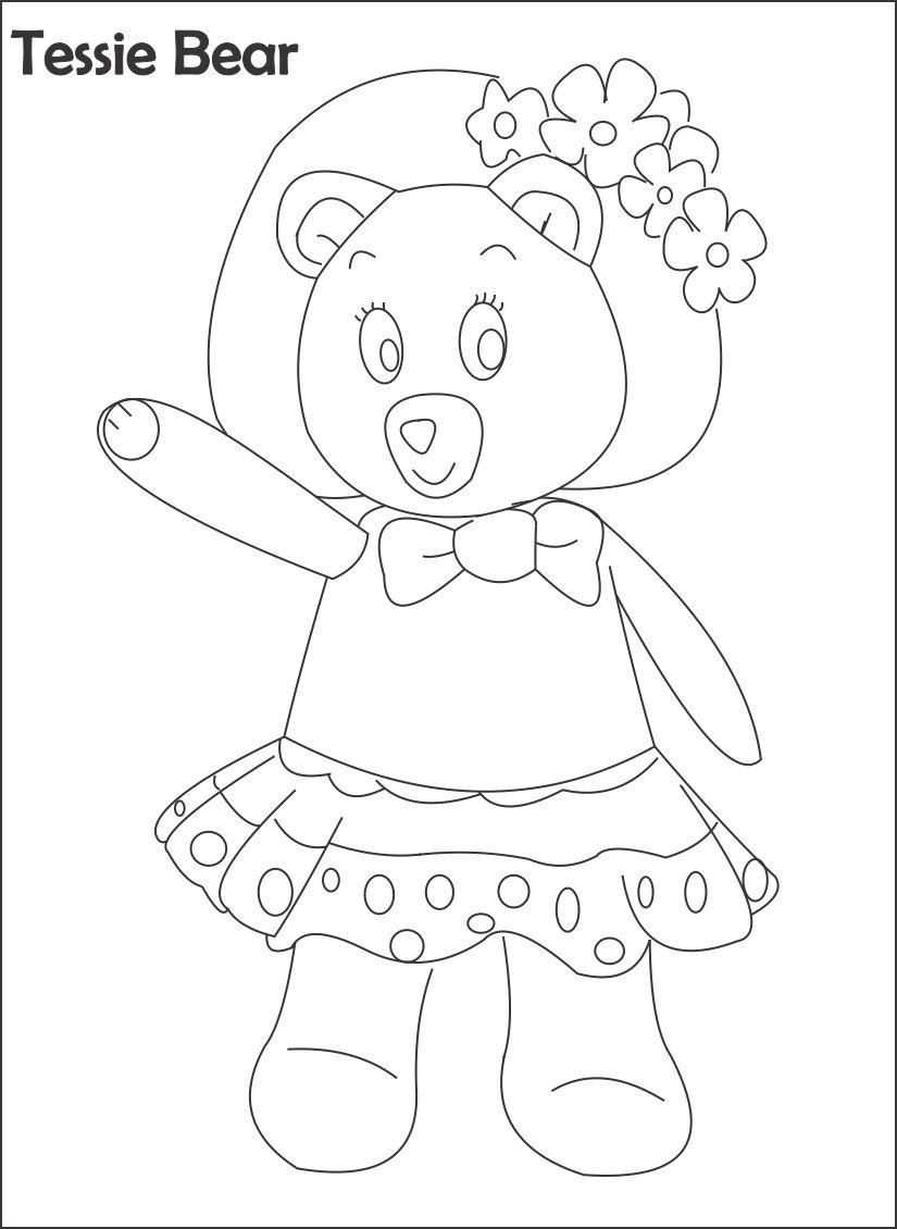 noddy coloring pages - photo#14