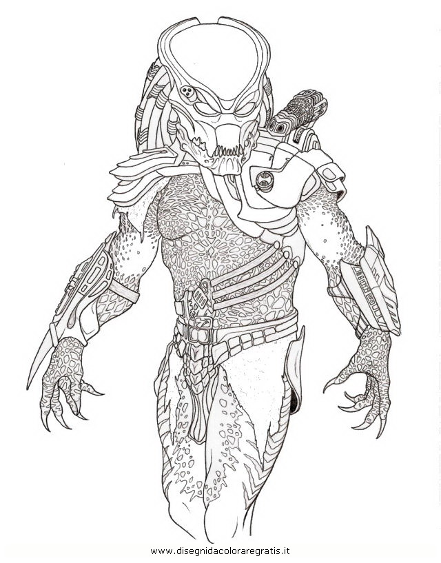 predator coloring pages - photo#10