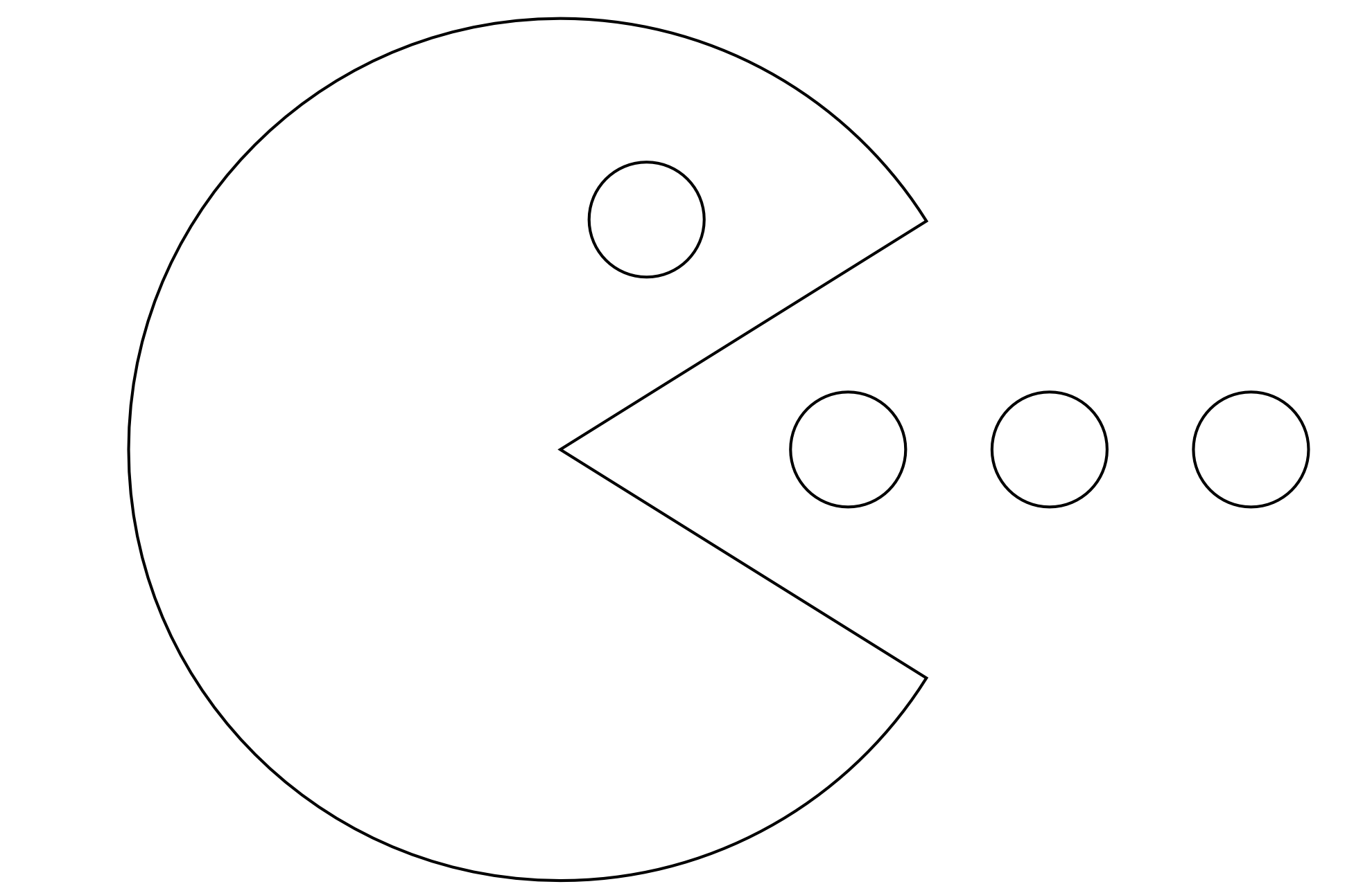 pacman printable coloring pages - photo#12