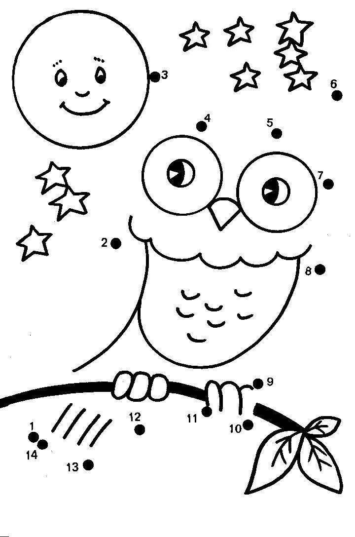 Dot to dot coloring pages to download