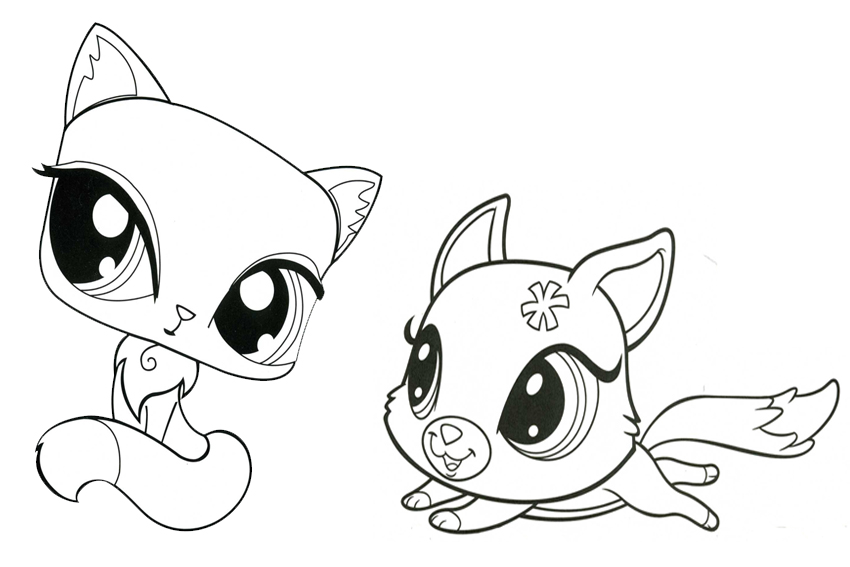 free printable lps coloring pages - photo#17