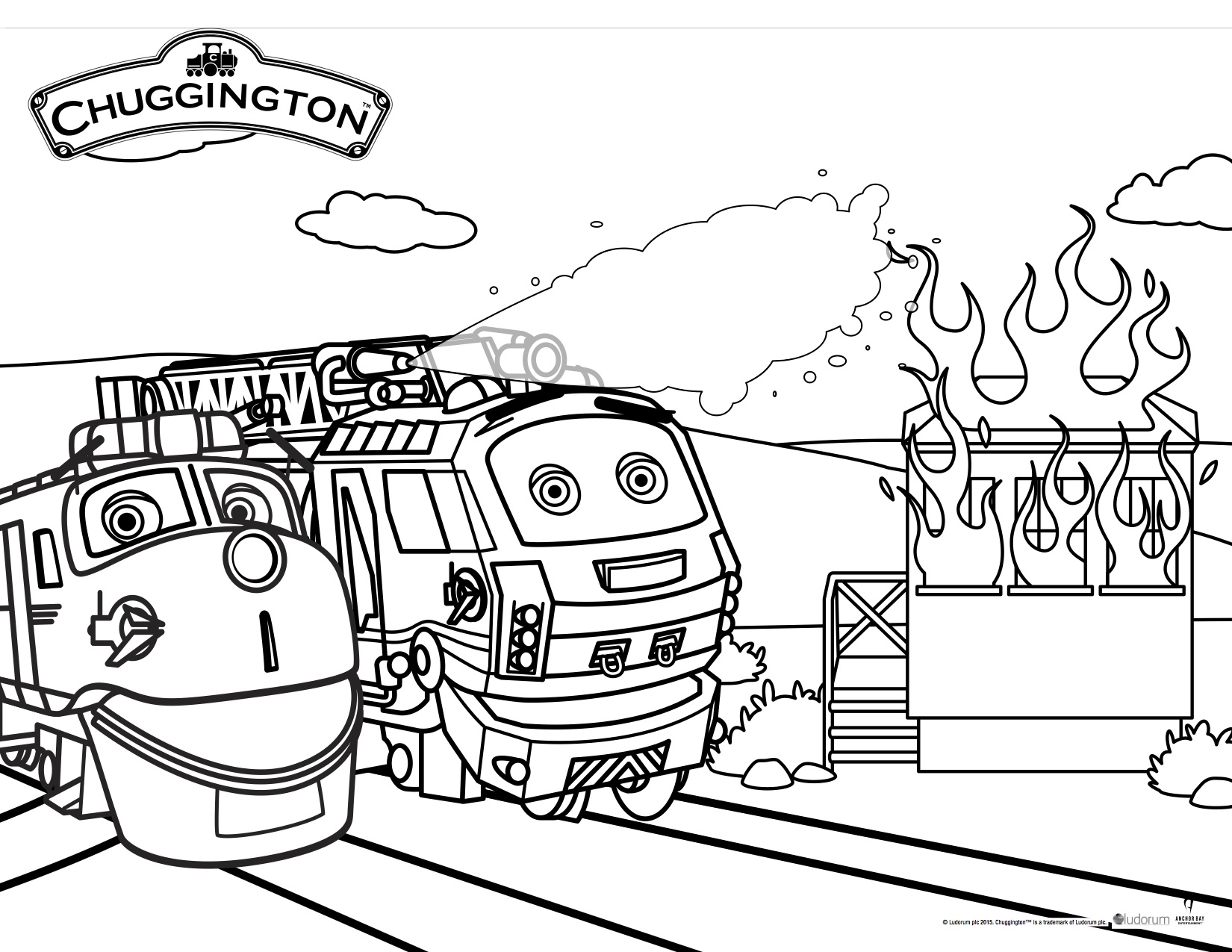 Chuggington coloring pages to download
