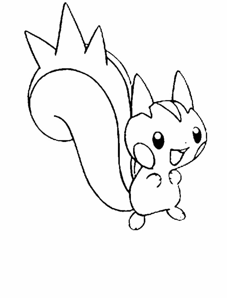 Eevee coloring pages to download