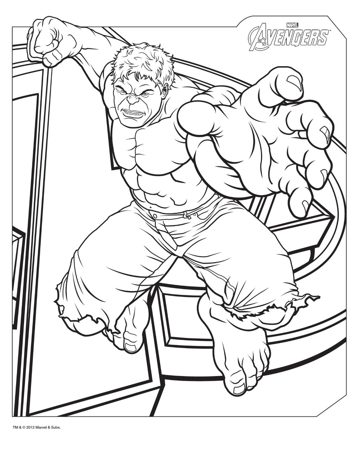 Comic Book Coloring Pages To Download And Print For Free
