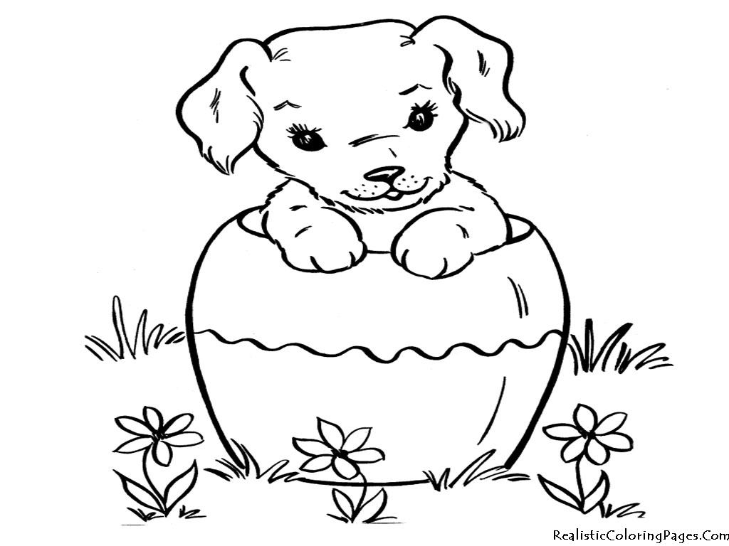 dog cats coloring pages - photo#24
