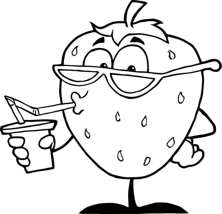 cartoon numbers coloring pages - photo#34