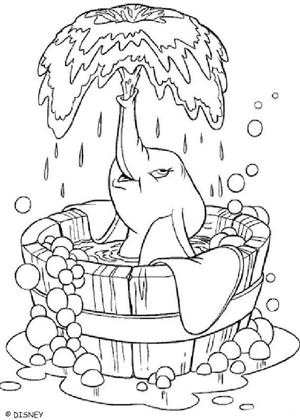baby shower coloring page