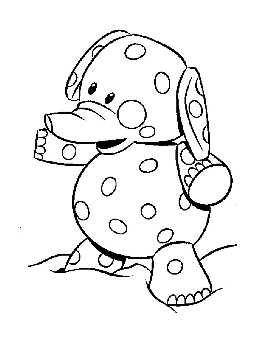 Baby elephant coloring pages to download and print for free for Baby toys coloring pages