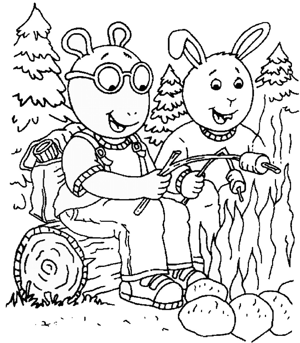 arthuir coloring pages | Arthur coloring pages to download and print for free