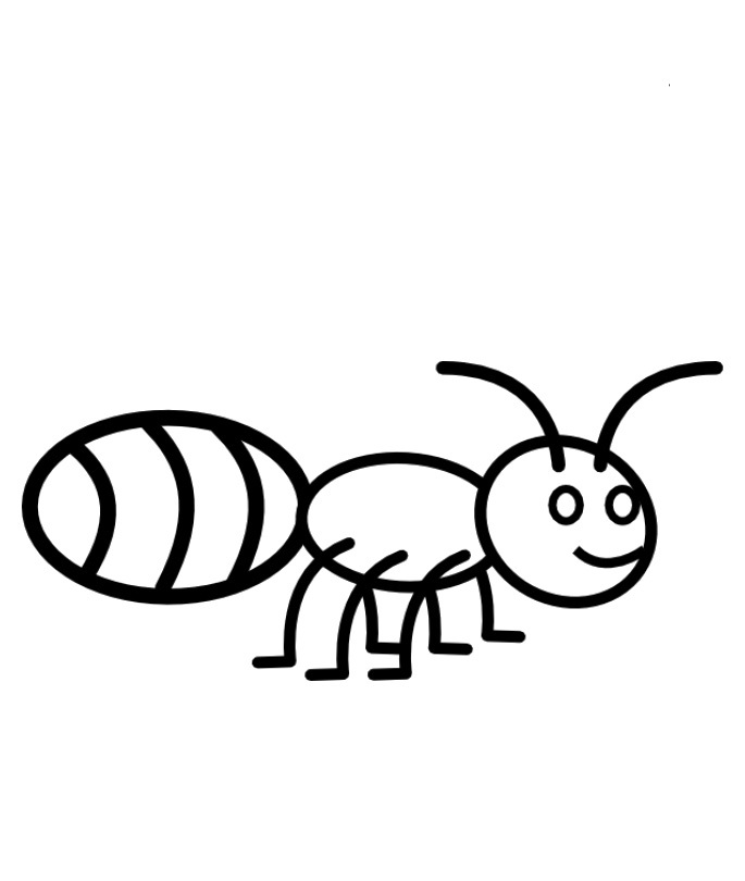 Ant coloring pages to download