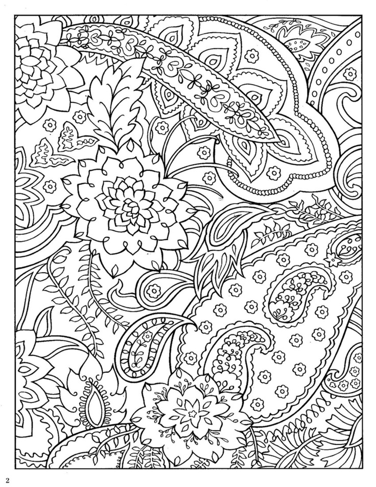 Abstract coloring pages to download