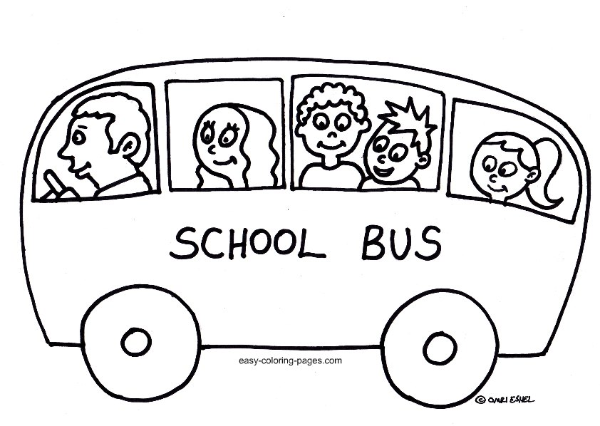 free school bus coloring pages - photo#24