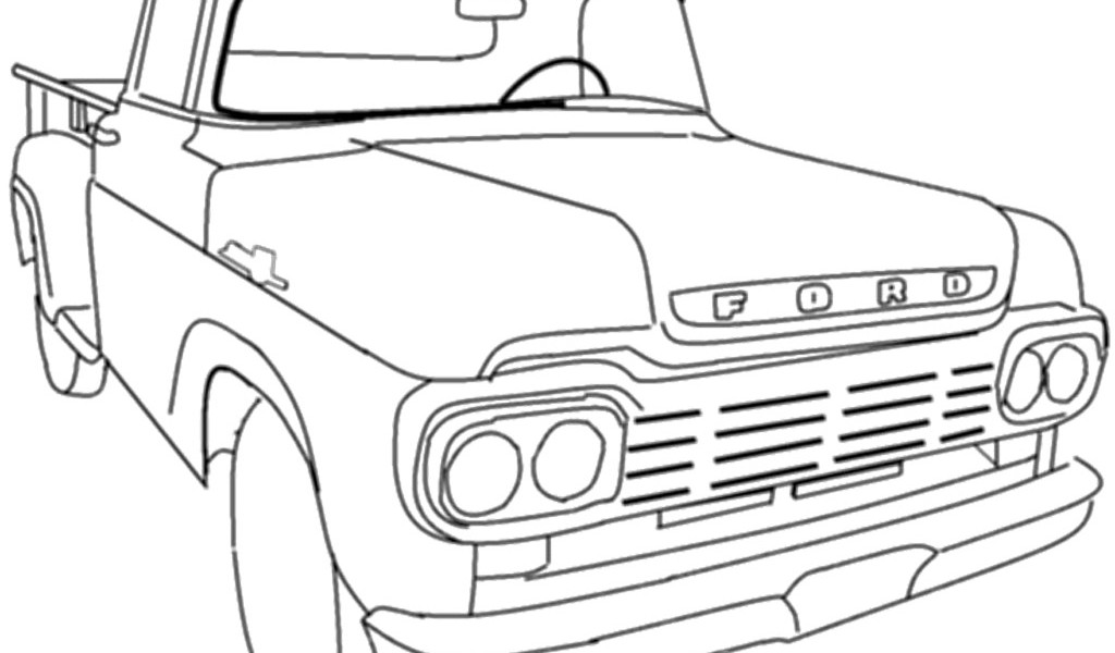 ford vehicle printable coloring pages - photo#37