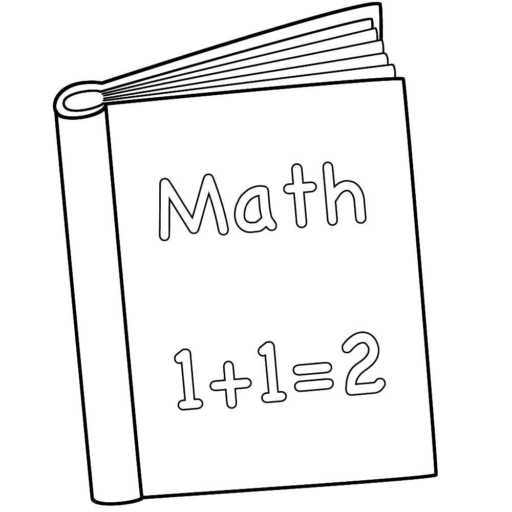 Colouring pages for maths - Book Coloring Pages To Download And Print For Free