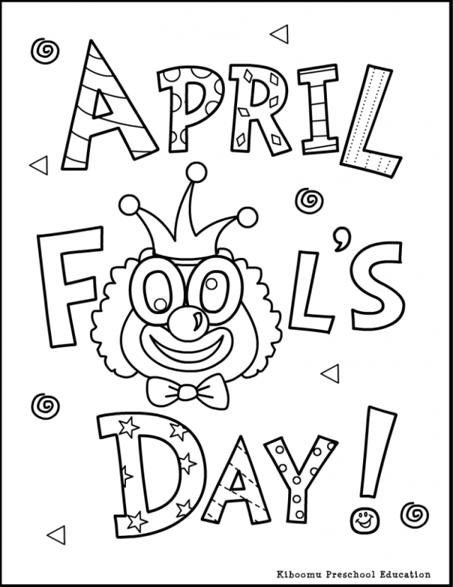 free april coloring pages - photo#6