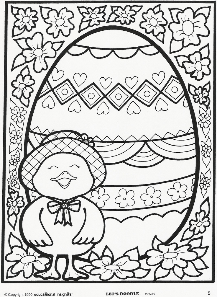Easter And Spring Coloring Pages Download And Print For Free