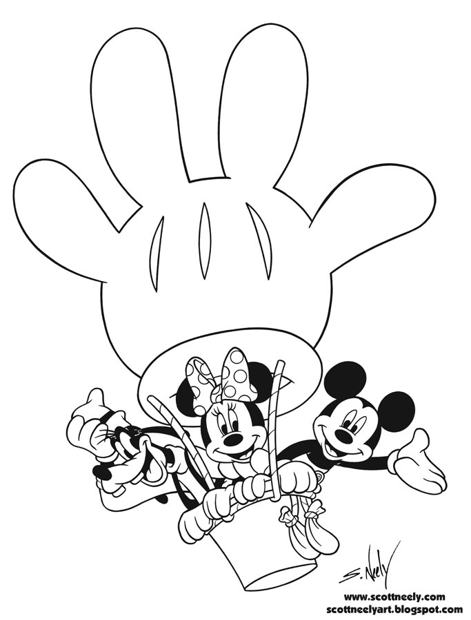 mickey coloring pages 23571