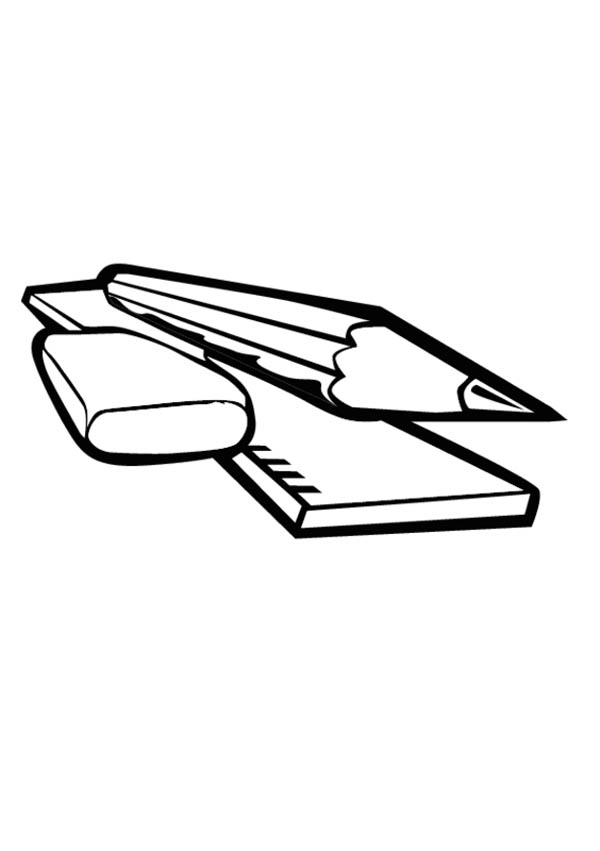 Ruler Coloring Page