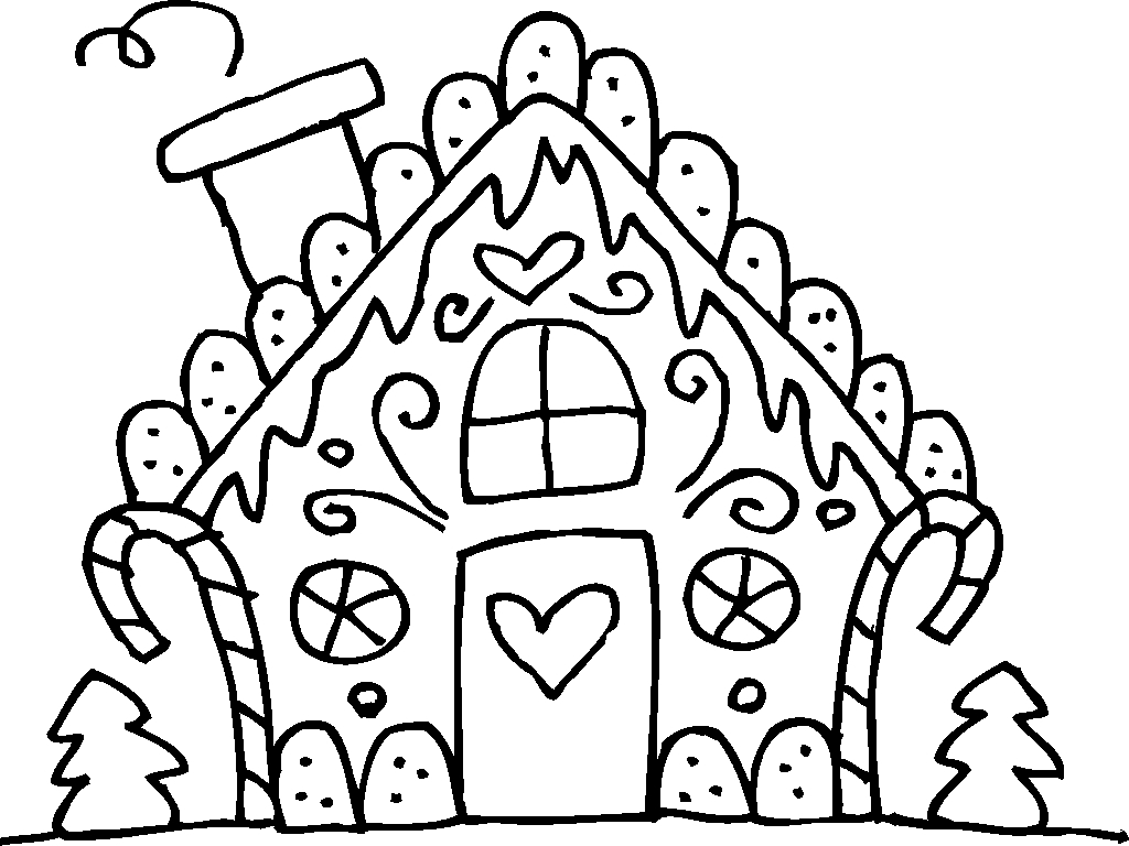 Christmas gingerbread coloring pages download and print for Coloring pages for kids christmas