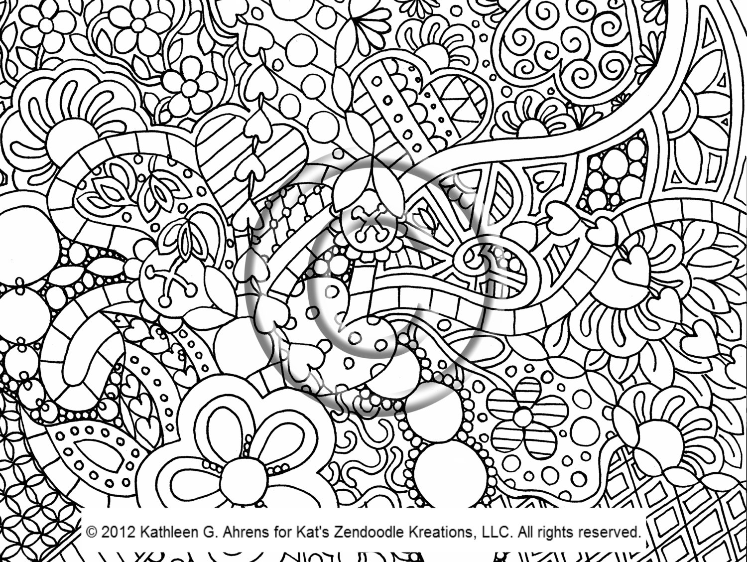 It is a graphic of Nerdy Coloring Pages Trippy