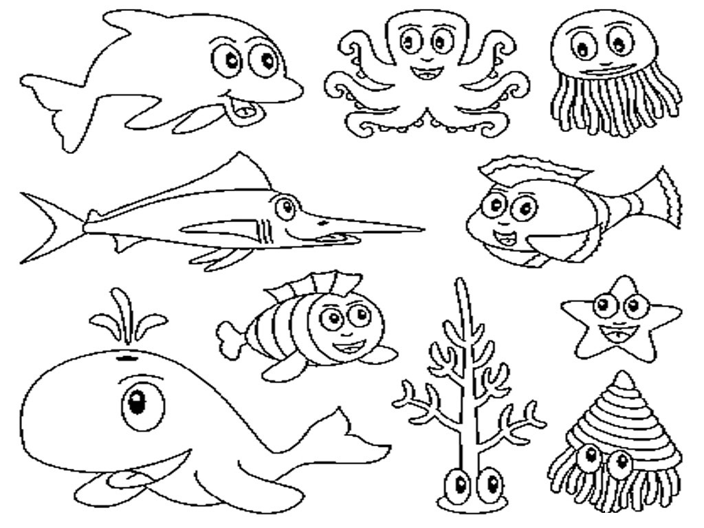 kids zone clearwater marine aquarium printable - Aquarium Coloring Pages Printable