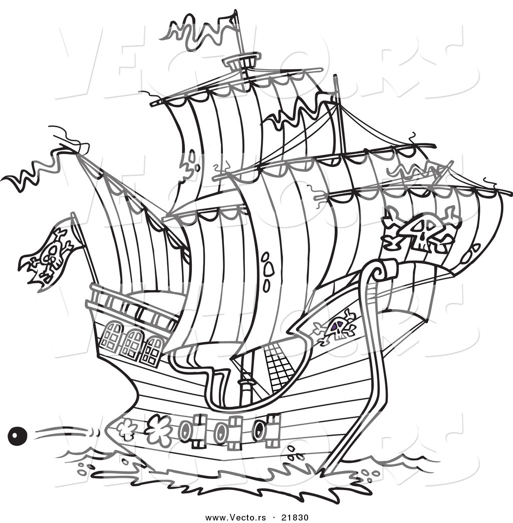 Nautical coloring pages to download