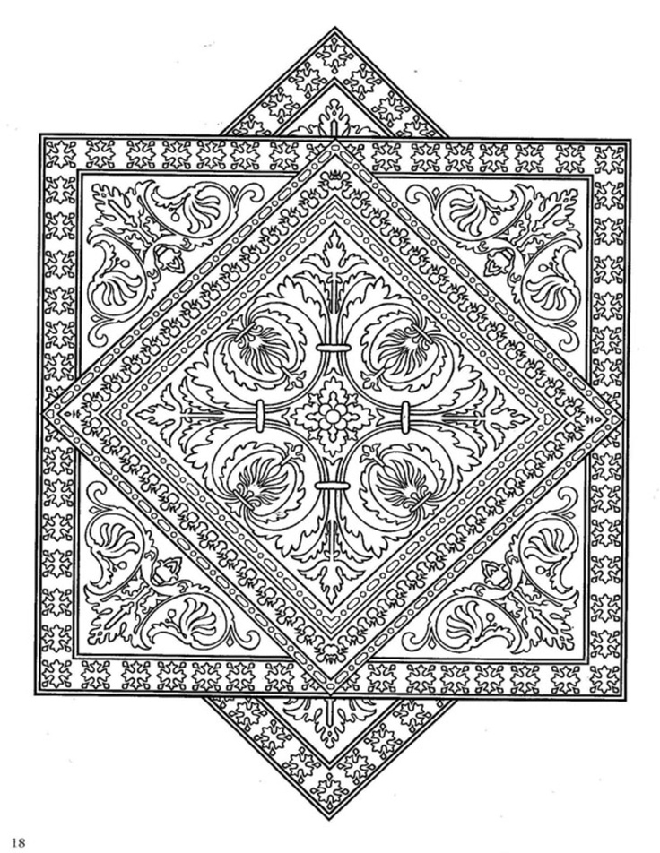 Dover coloring pages to download
