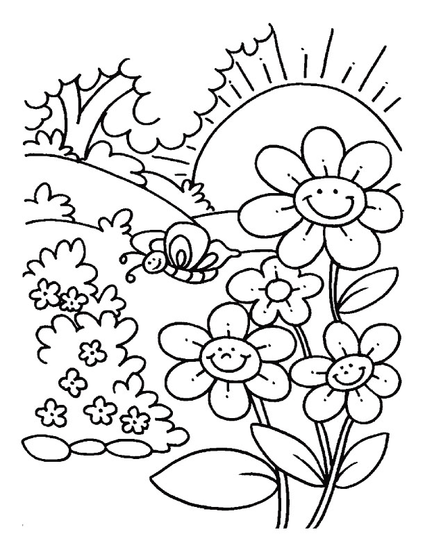 May coloring pages to download and print for free
