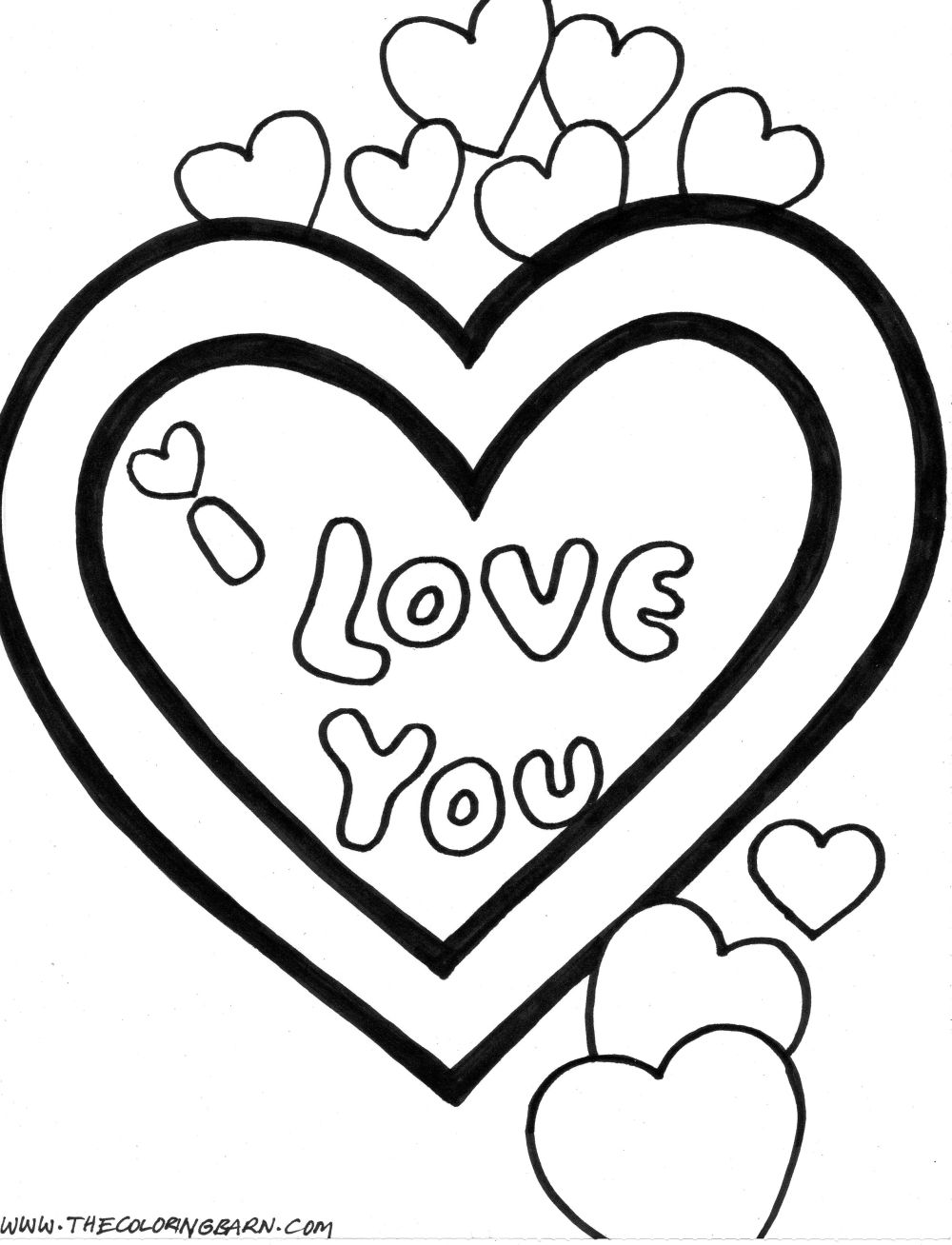 Coloring Pages Printable Love Coloring Pages love coloring pages printable eassume com heart for teenagers free pages