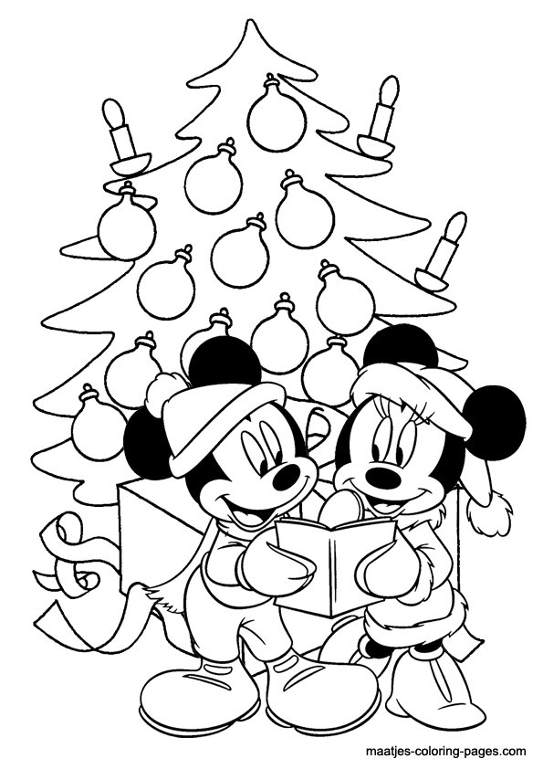 Mickey Mouse Christmas Coloring Pages To Download And Print For Free Mickey And Minnie Coloring Pages