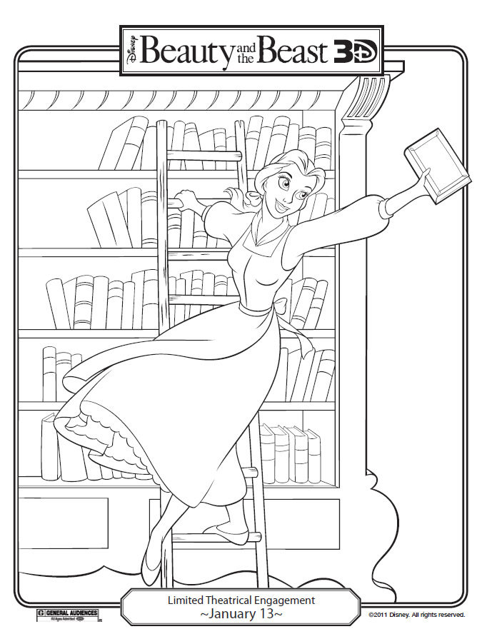 coloring pages librarian - photo#9
