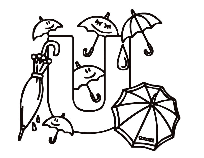 Letter U Coloring Pages To Download And Print For Free