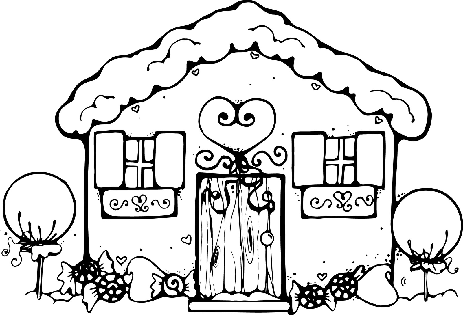 Free coloring pages loud house - House Coloring Pages
