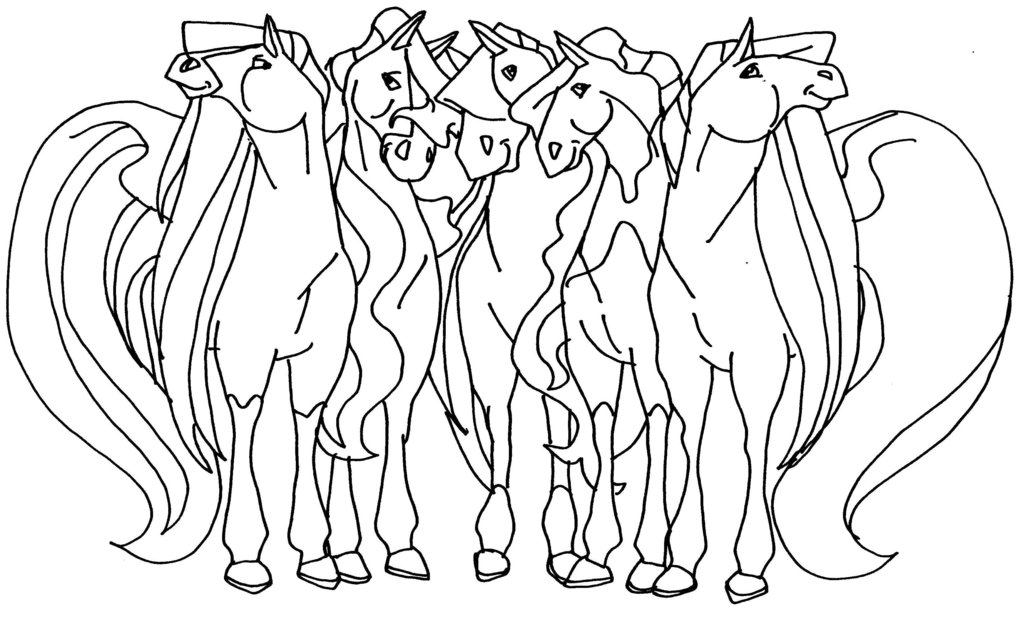 Horseland Coloring Pages Free Printable Horseland Coloring Pages ...