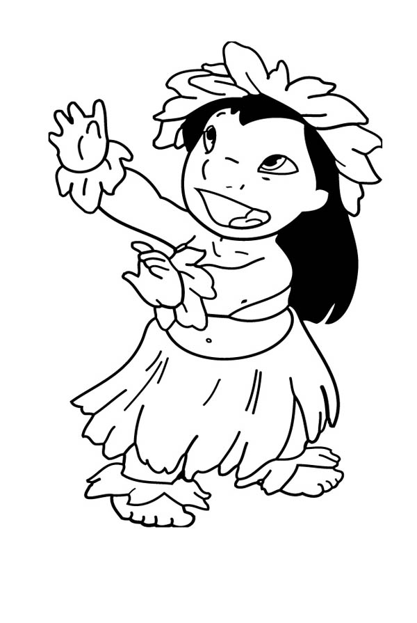 hawaiian coloring pages for children - photo#24