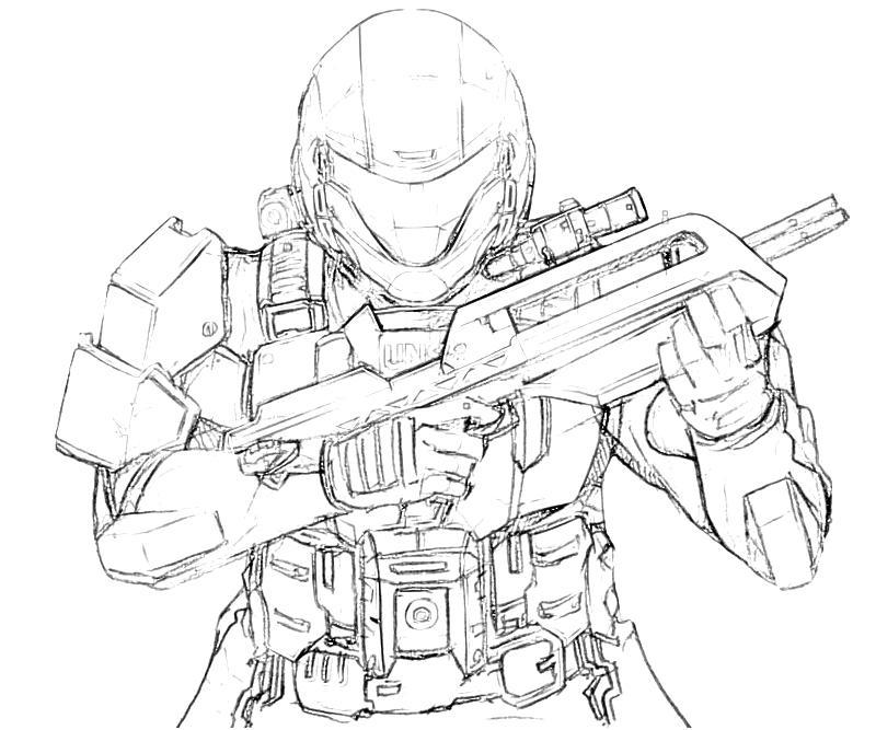 halo printing coloring pages | Halo coloring pages to download and print for free