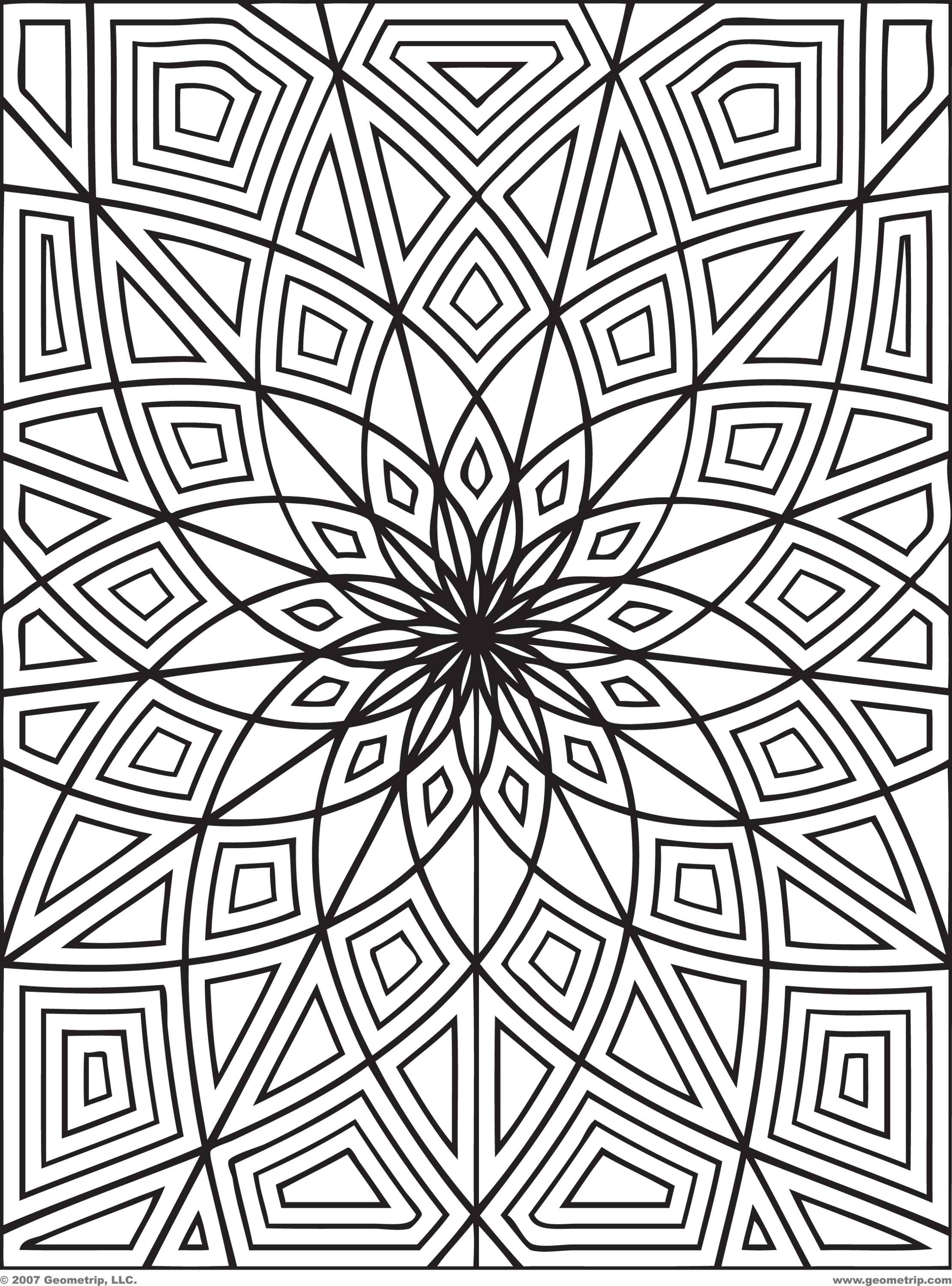 Detailed Coloring Pages To Download And Print For Free